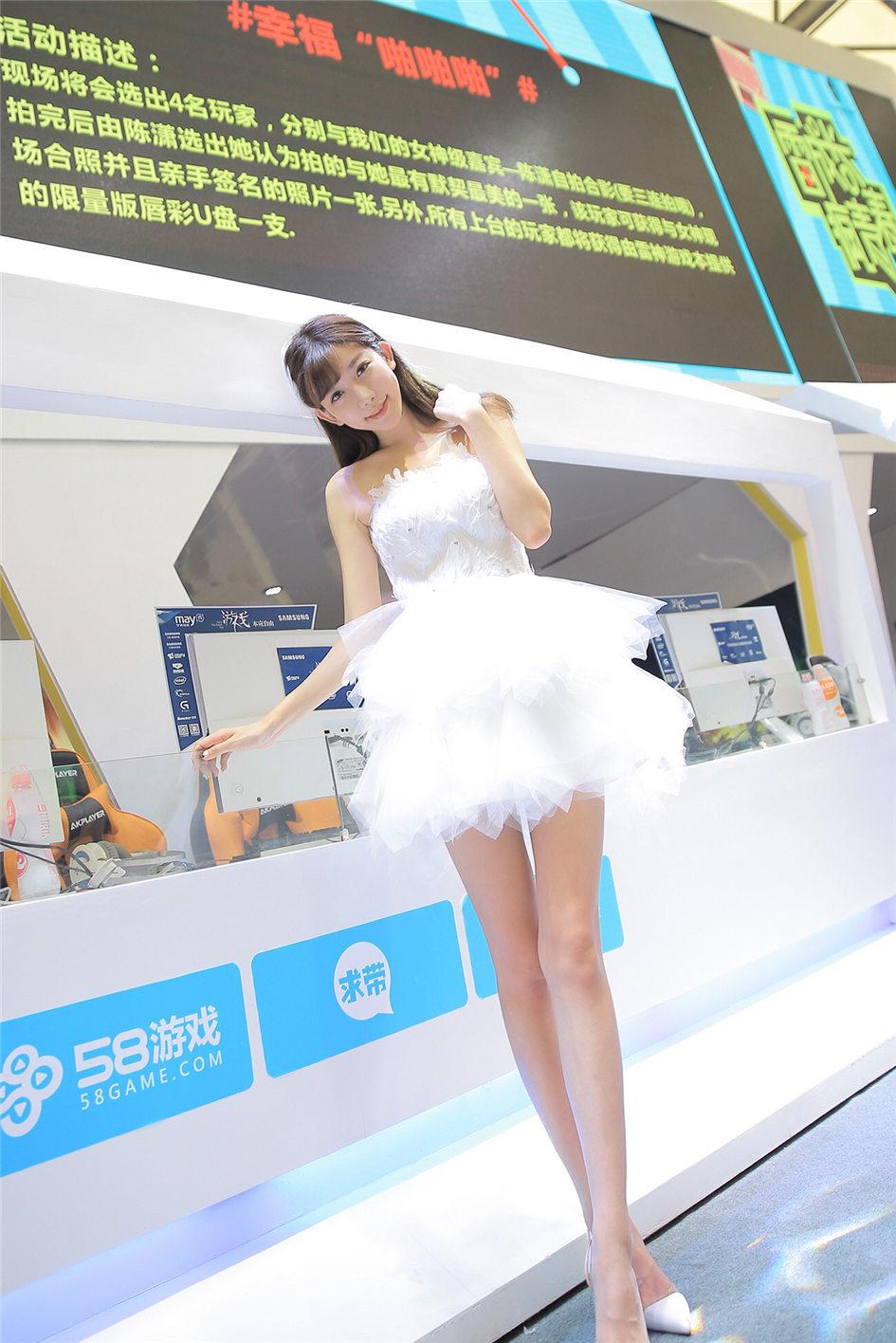 性感美女陈潇CJ2015绝色美照