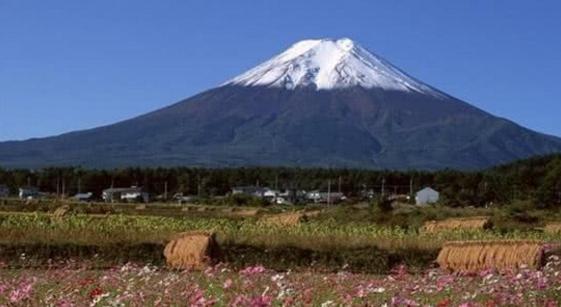 富士山喷发