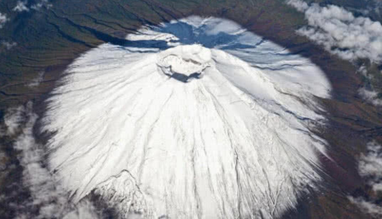 富士山喷发,人类大难临头