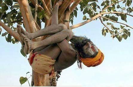 印度有群人一生只洗两次澡,每天以死尸为食,吸大麻还合法(1)